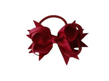 Pony Big Bow - Maroon