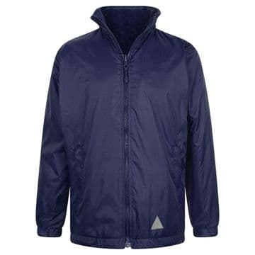 Reversible Fleece Jacket - NAVY