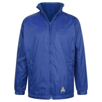 Reversible Fleece Jacket - ROYAL