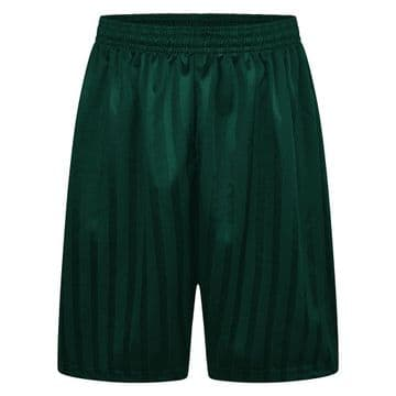 Shadow Stripe Shorts - Green