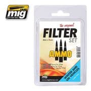 FILTER SET FOR WINTER AND UN VEHICLES<br> A.MIG-7450