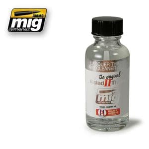 LACQUER THINNER AND CLEANER ALC307<br> A.MIG-8200