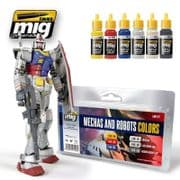 MECHAS AND ROBOTS COLOURS<br> A.MIG-7127