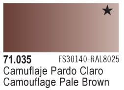 Model Air - Camouflage Light Brown 035 <br>Vallejo71035