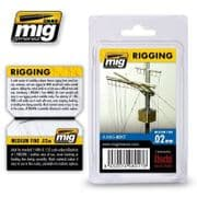 RIGGING - MEDIUM FINE 0.02 MM<br> A.MIG-8017