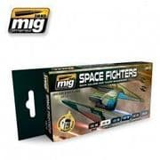 SPACE FIGHTERS SCI-FI COLOURS<br> A.MIG-7131