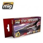 STAR DEFENDERS SCI-FI COLOURS<br> A.MIG-7130