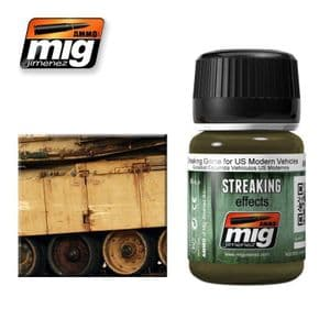 STREAKING GRIME FOR US MODERN VEHICLES<br> A.MIG-1207