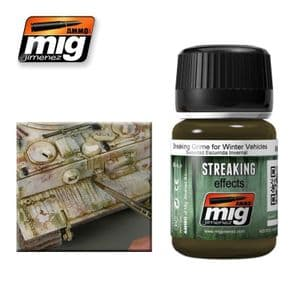 STREAKING GRIME FOR WINTER VEHICLES<br> A.MIG-1205