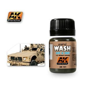 WASH FOR OIF & OEF - US VEHICLES<br> AK121