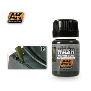 WASH FOR PANZER GREY VEHICLES<br> AK070