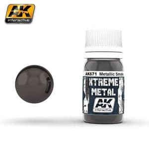 XTREME METAL Smoke Metalic  30ml<br> AK671