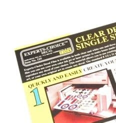 Clear Decal paper for Laser
