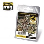 EUROPEAN MIXTURE - DRY LEAVES<BR>A.MIG-8410