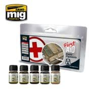 FIRST AID BASIC PIGMENTS<br> A.MIG-7448
