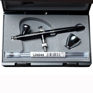 Harder & Steenbeck <Evolution ALplus 2in1 Airbrush  0.2mm,0.4mm nozzle sets &  2ml,5ml  paint cups