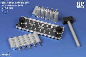 RP Toolz BIG Punch & Die Set 2mm to 4.5mm
