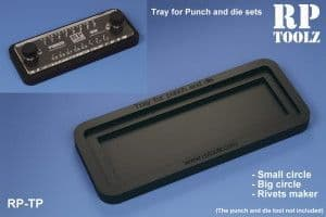 RP Toolz  Tray for Punch & Die set