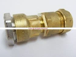 1/2in Durapipe Polyorc (21mm OD) x 22mm Copper (Compression) Transition Adaptor - Bespoke Part