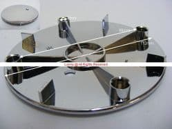 Abiante Novellini Shower Waste Top Flange 122.5mm Dia  - Bespoke Part OFC4