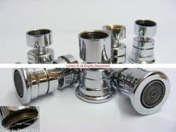Albacore Screw On Sink Mixer Swivel Nozzle (Select from M16, M18, M20, M20.5, M22 & M24) AS44AV - Bespoke Part