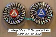 Armitage 30mm 'A' Chrome Indices I549652 No Longer Available