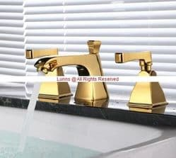 ArmitageA MK1 Town Square Three Hole Basin Mixer without Waste GOLD ORL1-1 - Bespoke Part