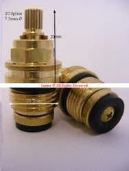 """Bank20 B190 BS5412 1/2"""" Tap Washer Valve  T20-10 EACH"""