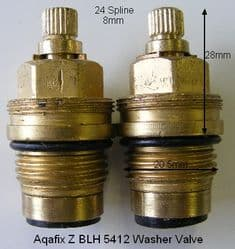 Bank24 Z BLH 5412 BS5412 Washer Valve T24-14A