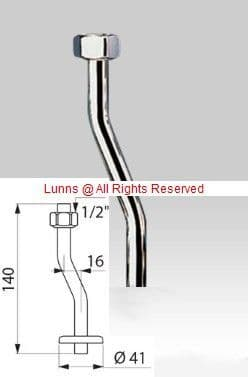 Delta Urinal Feed Pipe  1/2