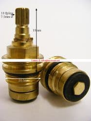 Ibain18 Compression Washer Valve T18-4 I541308711 Pair