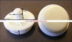 Ideal Abiante 21-6-7 WC Seat Buffer Pack of 4 OF-AD - Bespoke Part