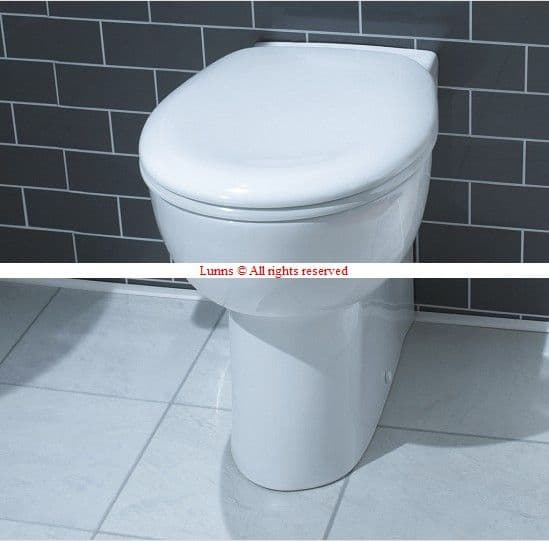 Koi423 Tall Back To Wall Pan c/w Soft Close Seat LE-AT54