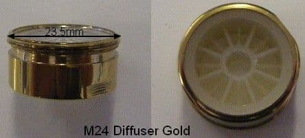 Neoperl M24 Diffuser Gold AS43