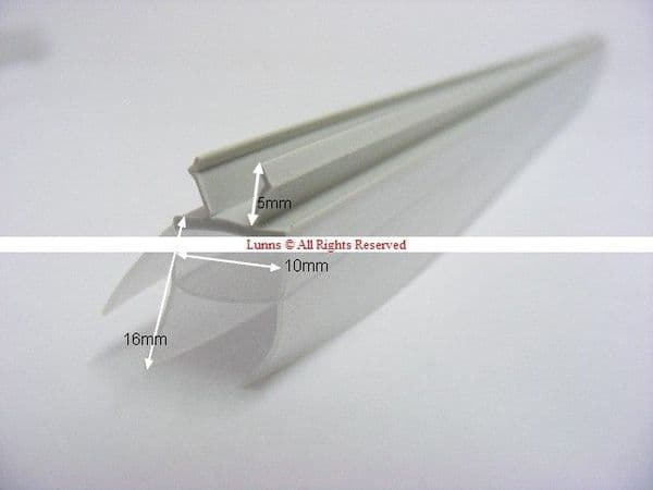 Polla Set of 3 3 Panel Screen Seals PT Model - Sects are 390mm/435mm/470mm - Bespoke Part