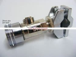 "Pool 15mmx3/4"" Self Cutting Washing Machine Valve - Bespoke Part"