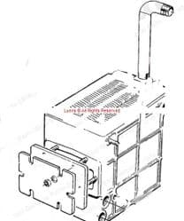 Potterton Netaheat Electronic Heat Exchanger 205673 - Bespoke Part