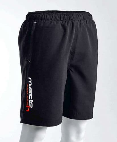 Harrier Lightweight Woven Shorts (Black)