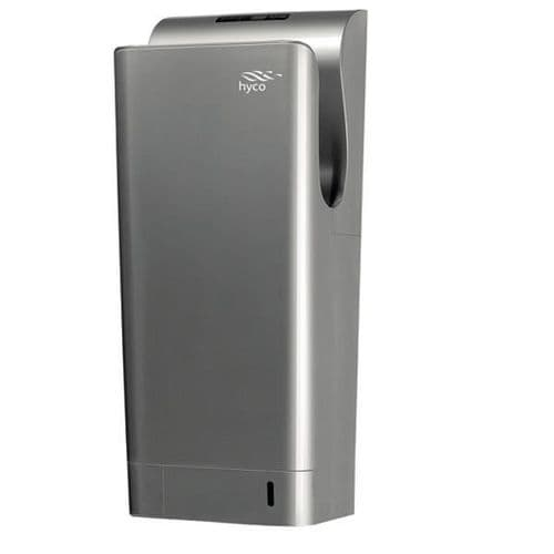 Hyco BLADES New Blade Silver 1.85KW Automatic High Speed Hand Dryer