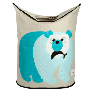 3 Sprouts Laundry Hamper (Polar Bear)
