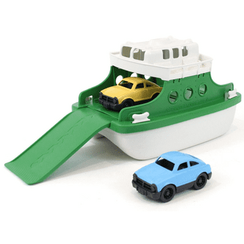 Green Toys Ferry Boat with Cars (Green)