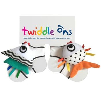 Twiddle Ons Foot Finder Toy (Fishy Business)