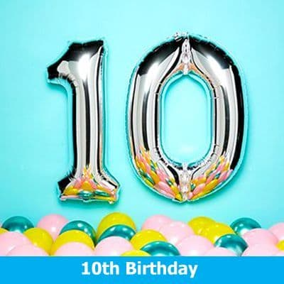 10th Birthday Party Supplies