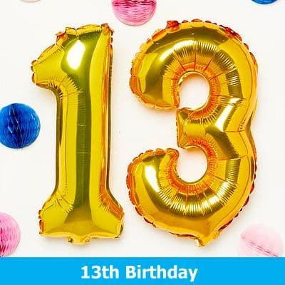 13th Birthday Party Supplies
