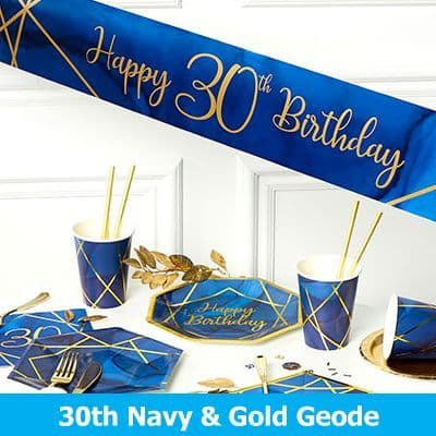30th Navy & Gold Georde