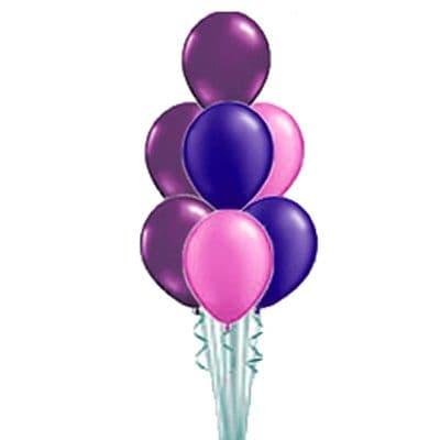 7 latex Balloons stacked Table Decoration or Floor Standing (Inflated price)