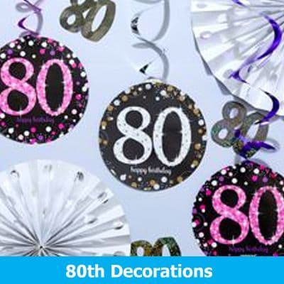 80th Birthday Decorations