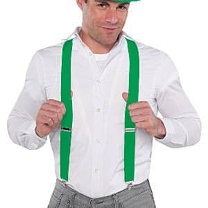 Accessories: Green Braces - St Patrick's Day (each)