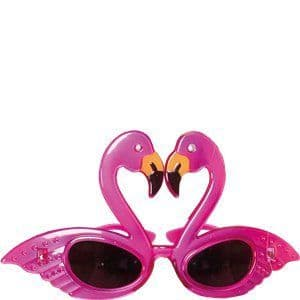 Accessory: Flamingo Glasses - Hawaiian Accessories