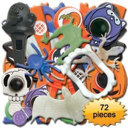 Accessory: Halloween Pinata Fillers-Party Bag Toys - 72 pieces